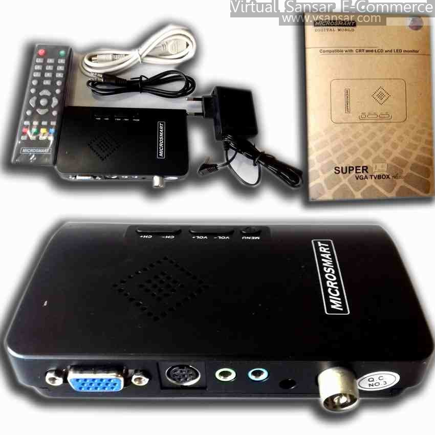 Microsmart tv card compatible with CRT and LCD and LED monitor