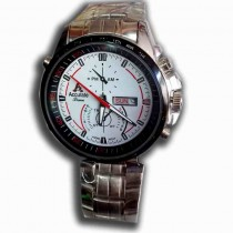 accurate time Stylish men gents hand watch