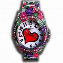 elassic time Stylish women ladies hand watch