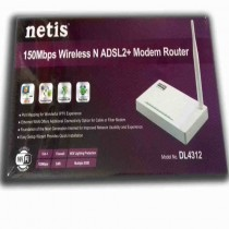 Netis 150 mbps wireless n adsl2 plus modem router