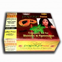 papaya facial treatment kit for blemishes and pigmentation