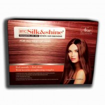 silk and shine keratin hair rebonding 200ml