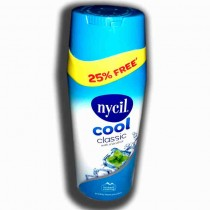 nycil cool classic with mentol 187.5gms