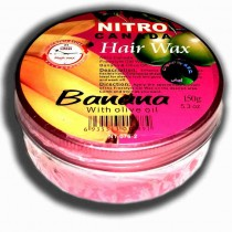 nitro canada hair wax 150gms banana