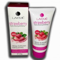lakme strawberry hydra whitening exfoliating 100 gms