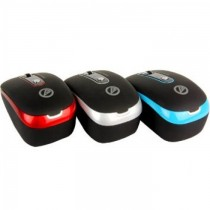 Cliptec Uni-Retractable RZS979 Blue Optic Mouse SKU-3812