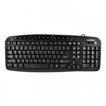 Cliptec RZK246 USB Multimedia Keyboard SKU-3804