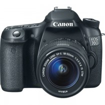 Canon 20.2 MP Camera EOS 70D (18-135mm)STM SKU-6173