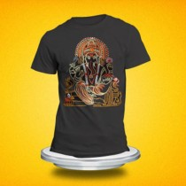 Embroidery Lord Ganesh T-Shirt  SKU-7829 Size Small(S) Medium(M) Large(L) Xtra Large(XL)
