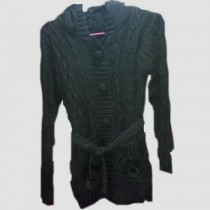 Woolen Design Sweater for Ladies SKU-KFJ03
