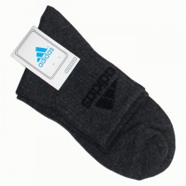 Adidas Mens Ankle Length Socks - Black SKU-471