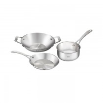 Baltra Stainless Steel Cookware (3 in 1) BSB-214 SKU-3460