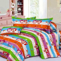 Baby 3D bedsheet with pillow cover SKU-15709