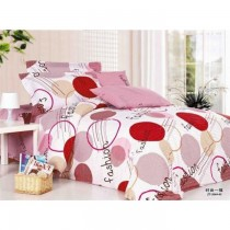 Fashion Authentic Korean King Size Bedsheet with Pillows Cover SKU-15718