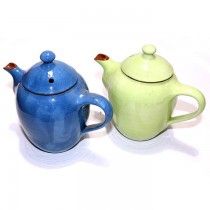 Set of Two Ceramic Small Teapots (Pack) SKU-2201