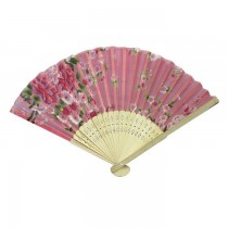 Portable Chinese Traditional Bamboo Hand Fan SKU-3125