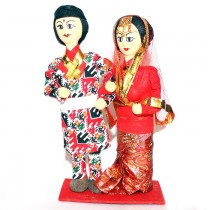 Traditional Nepali Couple Dolls SKU-2401