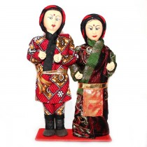 Traditional Sherpa Couple Dolls SKU-2403