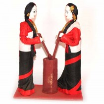 Newari Traditional Women Doll SKU-2405